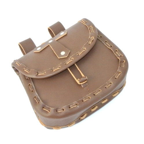 Paladin Pouch - Brown Leather - SNLA6711BR