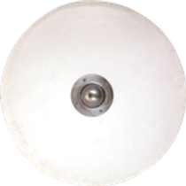 AH6768R Round Shield Blank