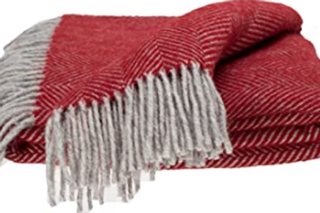 Fringed Wool Palla Cloak/Blanket