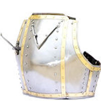 Churburg Armor Breastplate - XIV Century Armor - 16 Gauge - SNSA9110