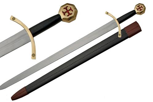 """41"""" Knights Templar Sword"""