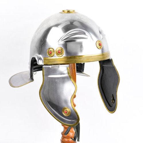Imperial Roman Gallic Helmet - 18 Gauge Steel - AH6321