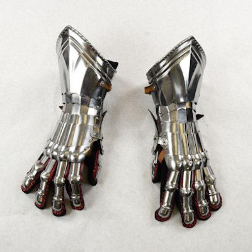 Gothic Gauntlets- 16 Gauge Steel - SNSA9406