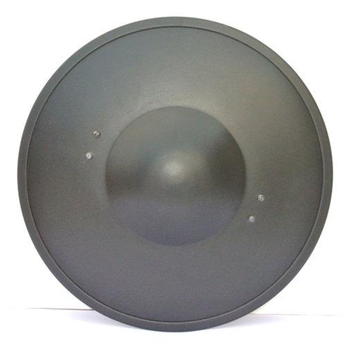 Blackened Steel Buckler - 16 Gauge Steel - SNS2132BK