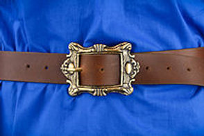 Pirate Captain's Belt - Brown - AH4451BR