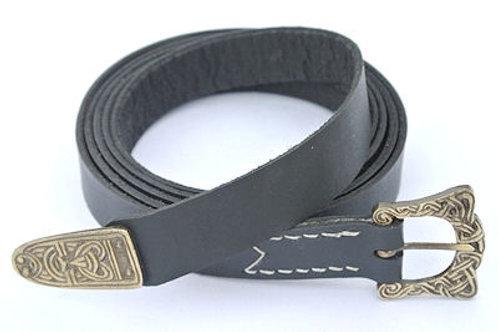 SNLA6417BK Thin Viking Belt, Black