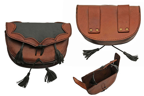 Leather Belt bag w/ Tassels