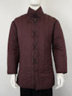 Laced-Front Gambeson - Brown - SNMC7105BR