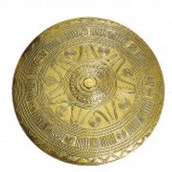 AH3990 Villanovan Embossed Shield