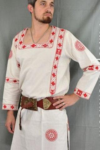 Late Roman Coptic Tunic (red)