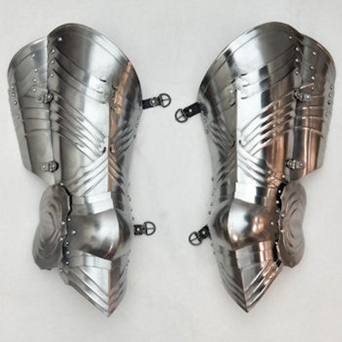 Gothic Leg Armor - 16 Gauge - LB25185