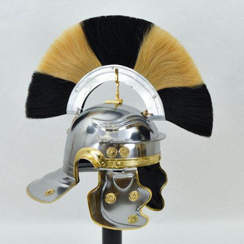 Roman Gallic ''H'' Officer's Helm - 18 Gauge - AH6066