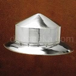 AH6311 13th Century Swiss Kettle Hat