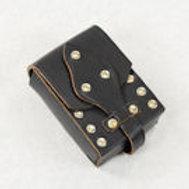 Leather Belt Pouch - SNLA6723BK