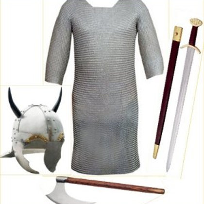 Viking Horned Helm Costume kit