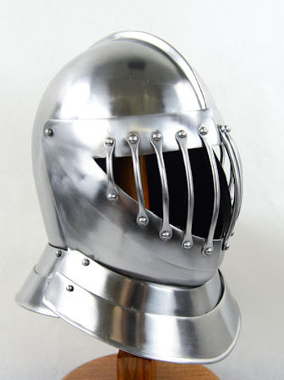 English Close Helm - 14 Gauge - AH6793_14