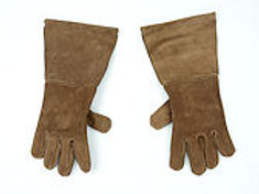 Suede Leather Swordsman's Gauntlets SNLA6801