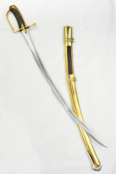 Napoleonic French Imperial Guard Light Cavalry Saber - USS110