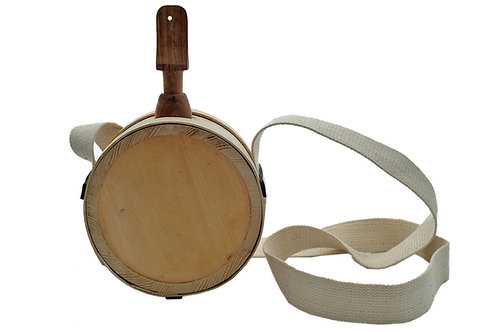Interlock wood canteen HS-7842