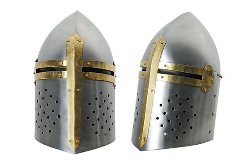 Steel Crusader Helm