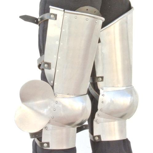 Italian Milanese Style Leg Armor - Cuisse and Poleyn - SNSA9555P16