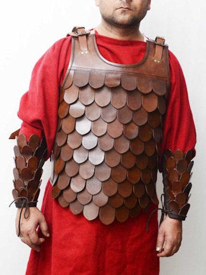 AH6270 Leather Scale Armor