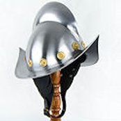 Spanish Morion with Leather Cheekplates - AH6782