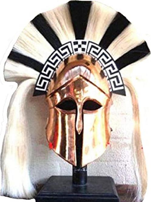 Greek Corinthian Helm w. Crest
