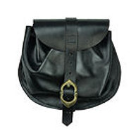 Small Leather Belt Pouch - AH4168