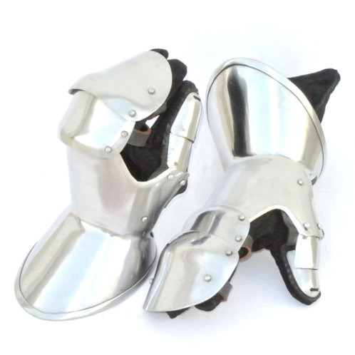 Milanese Clamshell Gauntlets - SNSA9410P16