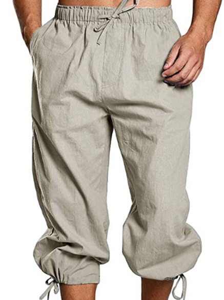 Braccae Banded Pants (small ties)