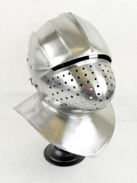 Milanese Helm - 16 Gauge Steel - SNH2273PL16