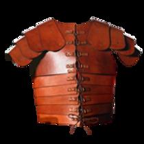 AH3851L Leather Lorica Segmentata
