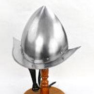 Peaked Morion Helm - 18 Gauge - AH6319