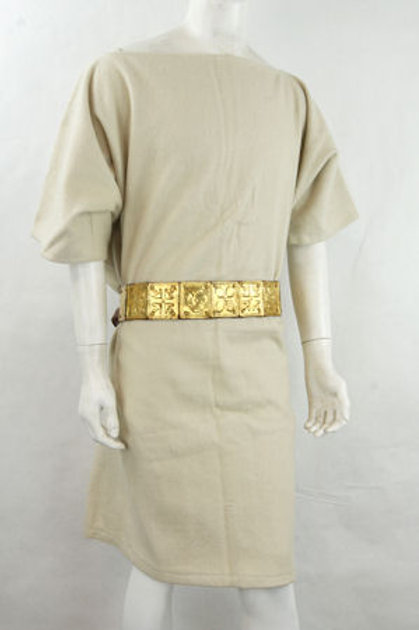 Ah6106w Roman Wool Tunic (White)