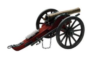 Civil War Napolean Cannon Display