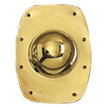 AH6752 Brass Shield Boss