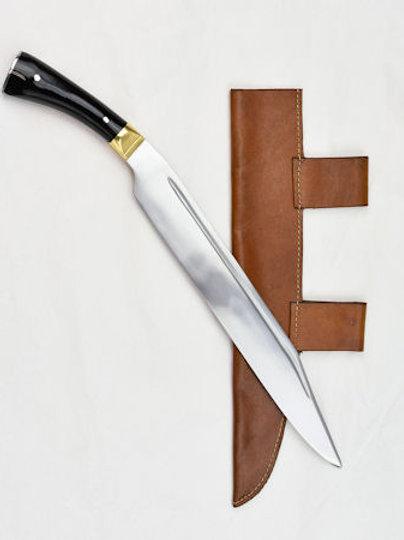 AH3379 Viking Seax w Horn, Bone, or Wood handle