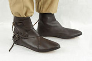 Crusader Leather Shoes (Toggle)