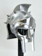 Gladiator Helm with Spikes - 18 Gauge - H014S
