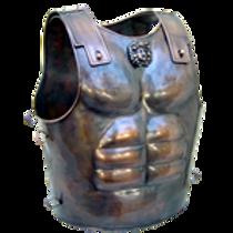 AH3876 Bronze Muscle Cuirass