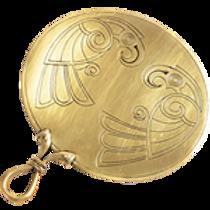 AH5551 Celtic Bird Mirror