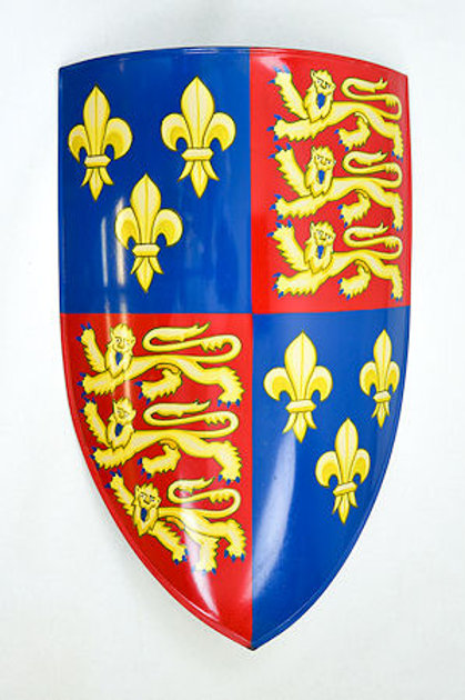 Edward III Medieval Shield