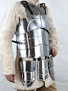 Steel Cuirass with Tasset Plates - 20 Gauge Steel - SNSA9107