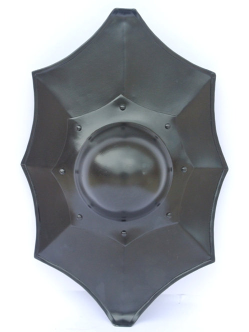 Talhoffer Buckler - Blackened Steel - 16 Gauge Steel - SNS2133BK