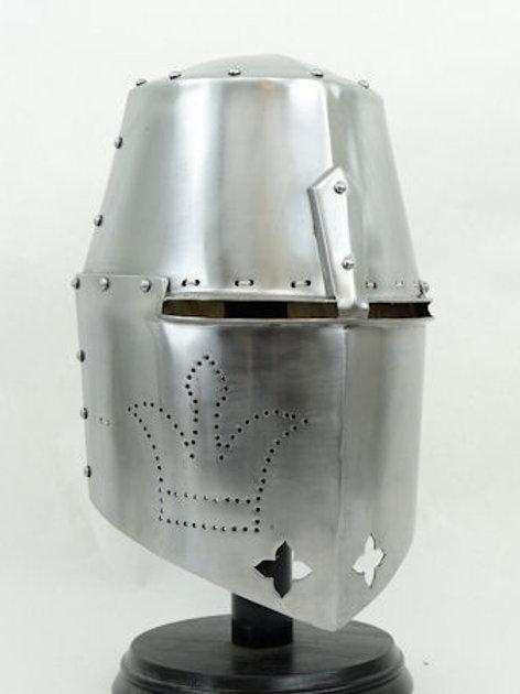 14th Century Great Helm- 14 Gauge - AH6109