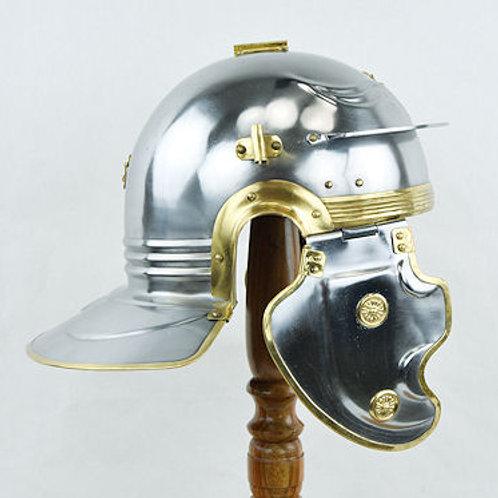 Roman Gallic ''F'' Besancon Helm - 18 Gauge Steel - AH6315B