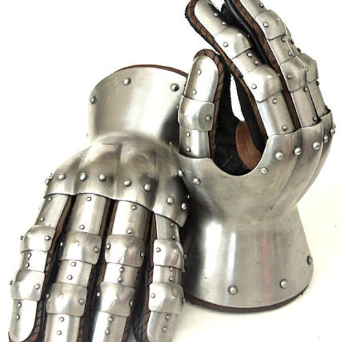 14th Century Hour Glass Gauntlets - SNSA9408