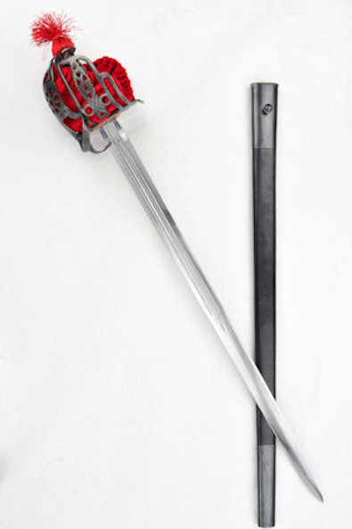 Scottish Basket-Hilt Broadsword - USS121