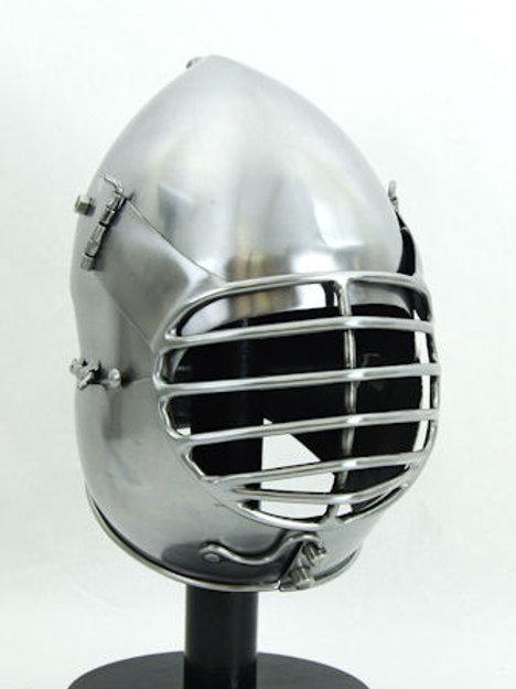 Dog-Face Bascinet - Sport Combat Helm - 14 Gauge - AH6916G